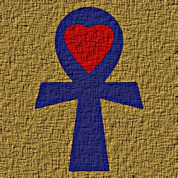 Ka BaSum Ankh with heart
