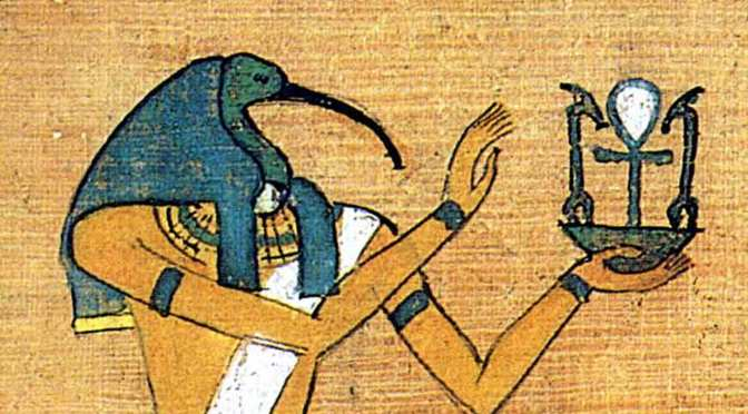 Thoth and Mer-ka-ba